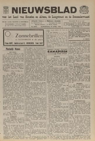 Nieuwsblad het land van Heusden en Altena de Langstraat en de Bommelerwaard 1948-04-29