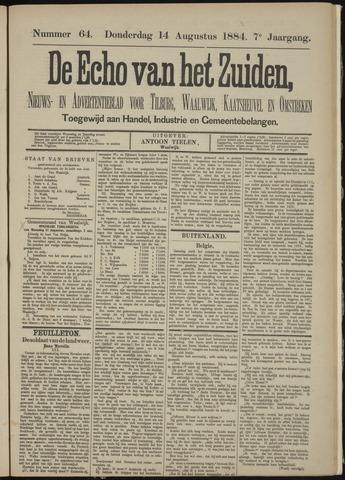 Echo van het Zuiden 1884-08-14