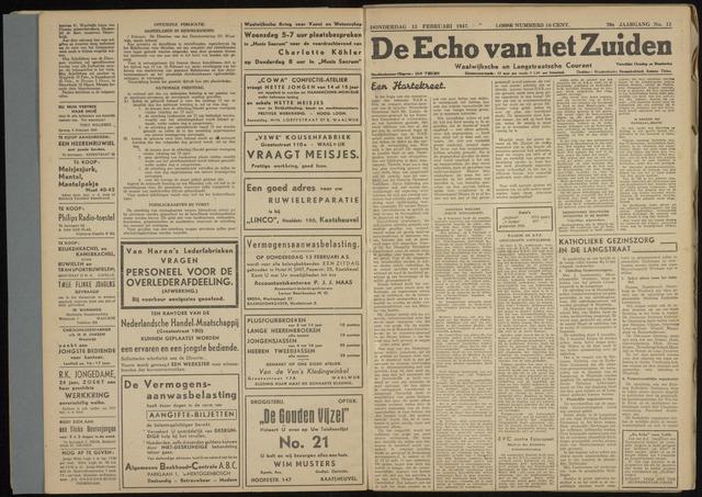 Echo van het Zuiden 1947-02-13