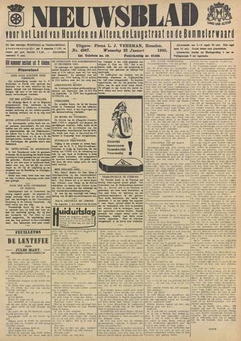 Nieuwsblad het land van Heusden en Altena de Langstraat en de Bommelerwaard 1930-01-22