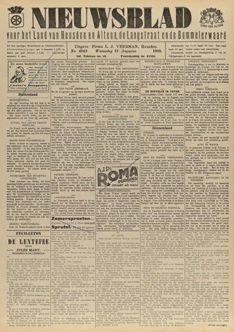 Nieuwsblad het land van Heusden en Altena de Langstraat en de Bommelerwaard 1929-08-21