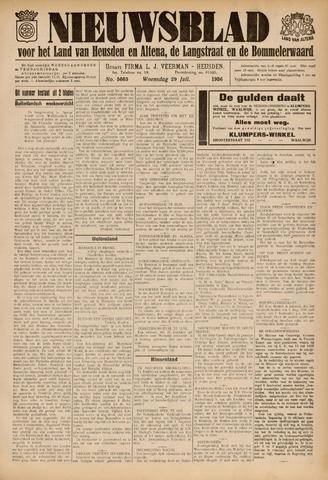 Nieuwsblad het land van Heusden en Altena de Langstraat en de Bommelerwaard 1936-07-29