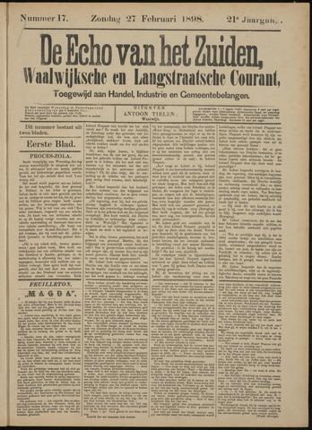 Echo van het Zuiden 1898-02-27