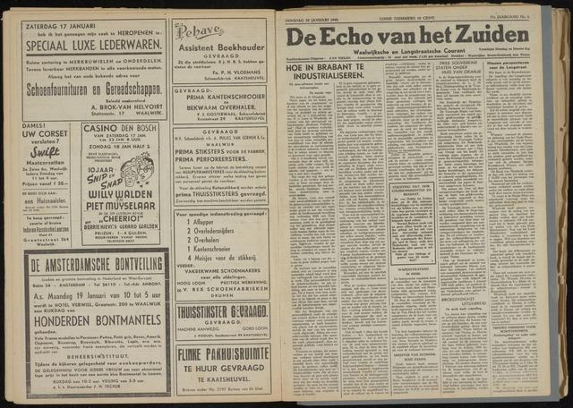 Echo van het Zuiden 1948-01-20