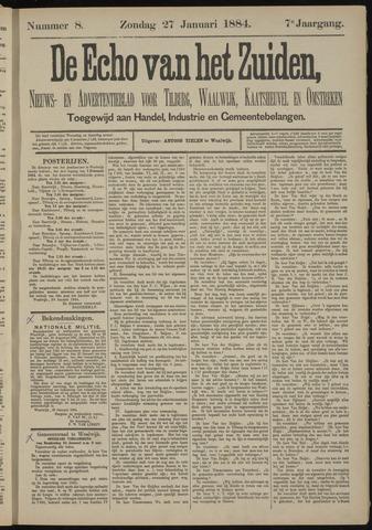 Echo van het Zuiden 1884-01-27