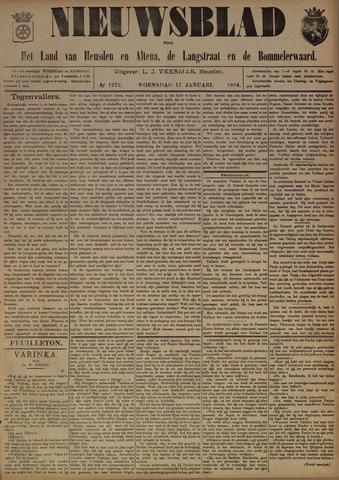 Nieuwsblad het land van Heusden en Altena de Langstraat en de Bommelerwaard 1894-01-17