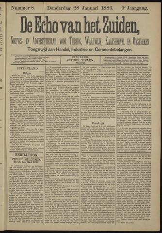 Echo van het Zuiden 1886-01-28