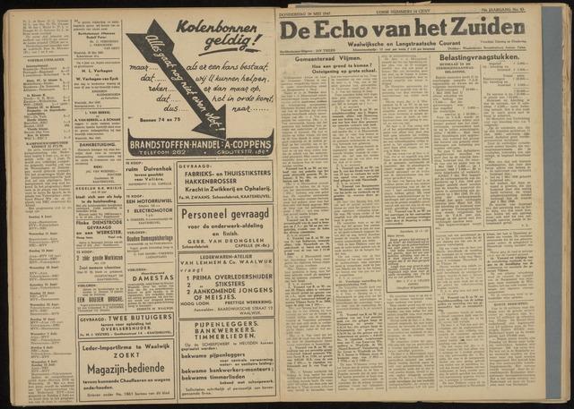 Echo van het Zuiden 1947-05-29