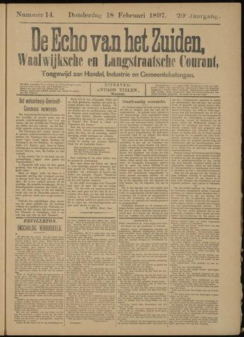 Echo van het Zuiden 1897-02-18