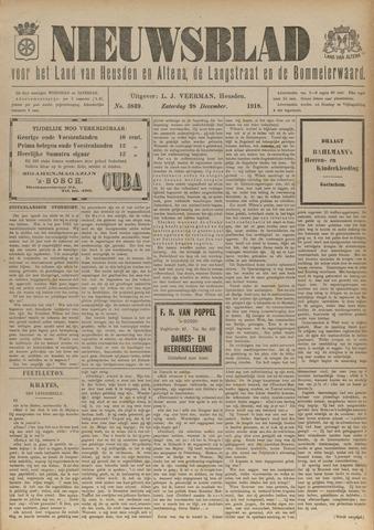 Nieuwsblad het land van Heusden en Altena de Langstraat en de Bommelerwaard 1918-12-28