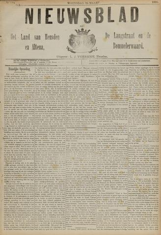 Nieuwsblad het land van Heusden en Altena de Langstraat en de Bommelerwaard 1891-03-25