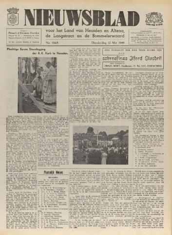 Nieuwsblad het land van Heusden en Altena de Langstraat en de Bommelerwaard 1949-05-12