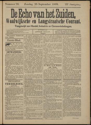 Echo van het Zuiden 1898-09-25