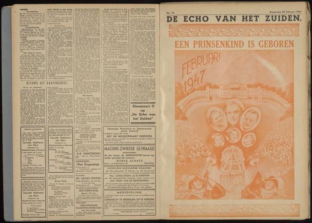 Echo van het Zuiden 1947-02-20