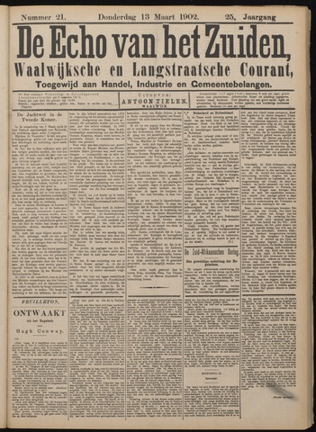 Echo van het Zuiden 1902-03-13