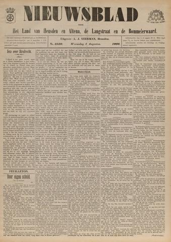 Nieuwsblad het land van Heusden en Altena de Langstraat en de Bommelerwaard 1906-08-01