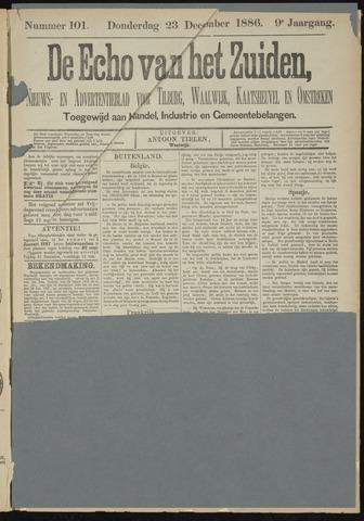 Echo van het Zuiden 1886-12-23