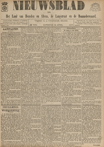 Nieuwsblad het land van Heusden en Altena de Langstraat en de Bommelerwaard 1897-04-24