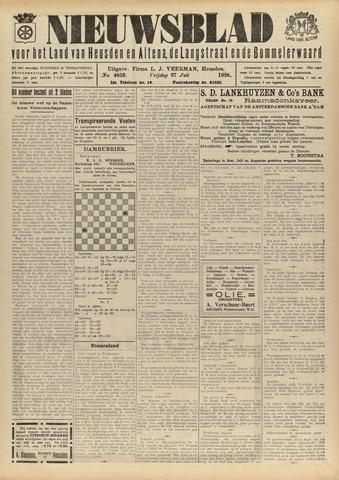 Nieuwsblad het land van Heusden en Altena de Langstraat en de Bommelerwaard 1928-07-27