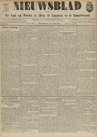 Nieuwsblad het land van Heusden en Altena de Langstraat en de Bommelerwaard 1893-01-25
