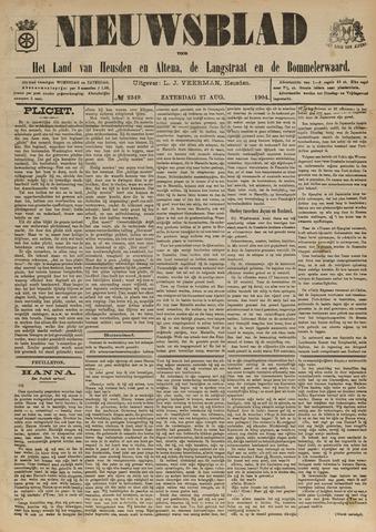 Nieuwsblad het land van Heusden en Altena de Langstraat en de Bommelerwaard 1904-08-27