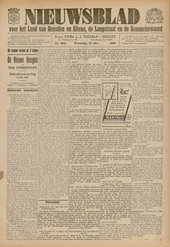Nieuwsblad het land van Heusden en Altena de Langstraat en de Bommelerwaard 1936-05-13