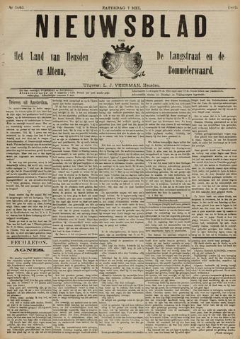 Nieuwsblad het land van Heusden en Altena de Langstraat en de Bommelerwaard 1892-05-07