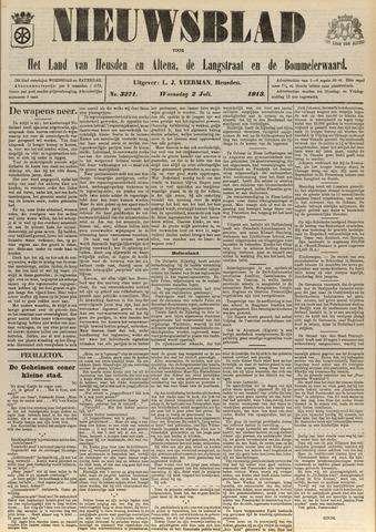 Nieuwsblad het land van Heusden en Altena de Langstraat en de Bommelerwaard 1913-07-02