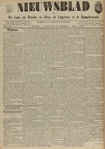 Nieuwsblad het land van Heusden en Altena de Langstraat en de Bommelerwaard 1893-08-16