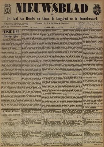 Nieuwsblad het land van Heusden en Altena de Langstraat en de Bommelerwaard 1894-07-14