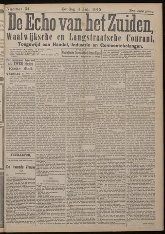 Echo van het Zuiden 1915-07-04