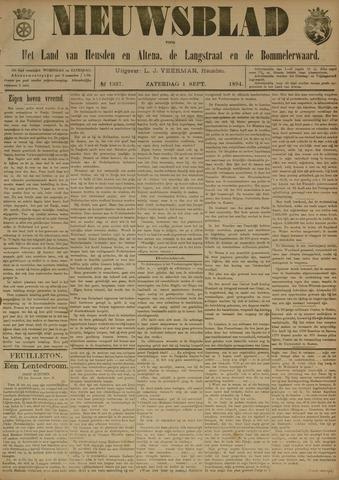 Nieuwsblad het land van Heusden en Altena de Langstraat en de Bommelerwaard 1894-09-01