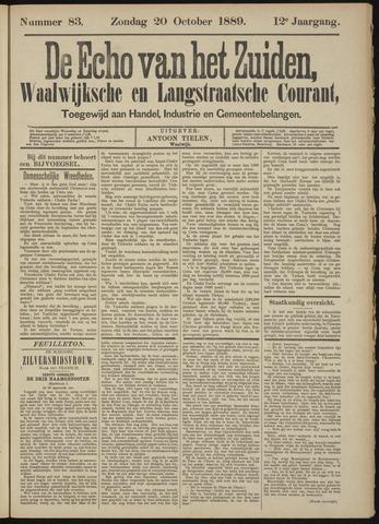 Echo van het Zuiden 1889-10-20