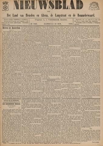 Nieuwsblad het land van Heusden en Altena de Langstraat en de Bommelerwaard 1899-10-28