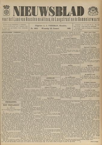 Nieuwsblad het land van Heusden en Altena de Langstraat en de Bommelerwaard 1921-01-12