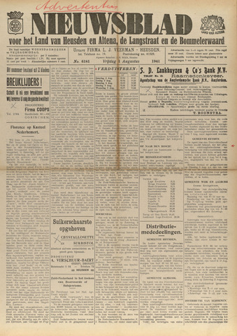 Nieuwsblad het land van Heusden en Altena de Langstraat en de Bommelerwaard 1941-08-01