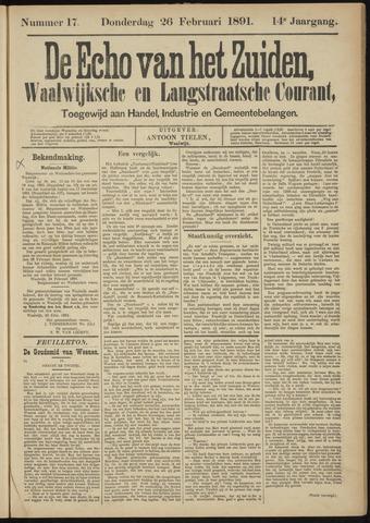 Echo van het Zuiden 1891-02-26