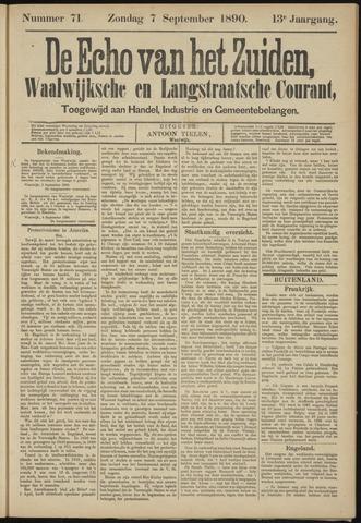Echo van het Zuiden 1890-09-07