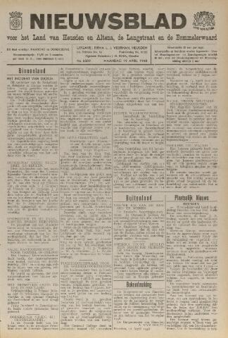Nieuwsblad het land van Heusden en Altena de Langstraat en de Bommelerwaard 1948-04-19