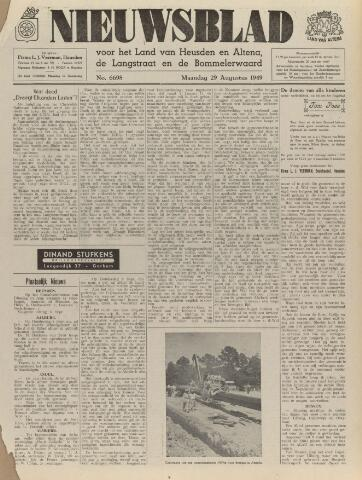 Nieuwsblad het land van Heusden en Altena de Langstraat en de Bommelerwaard 1949-08-29