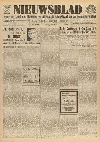 Nieuwsblad het land van Heusden en Altena de Langstraat en de Bommelerwaard 1934-05-11