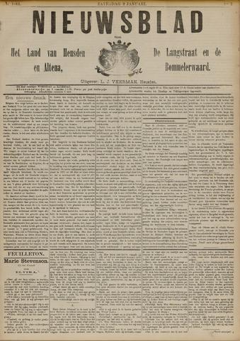 Nieuwsblad het land van Heusden en Altena de Langstraat en de Bommelerwaard 1892-01-09