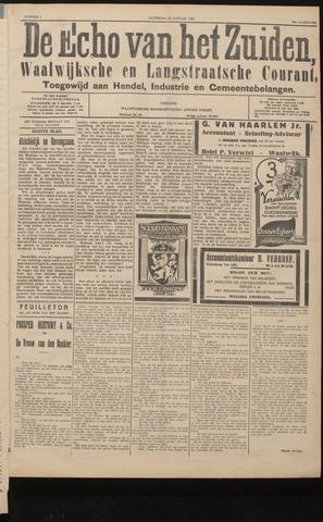 Echo van het Zuiden 1927-01-22