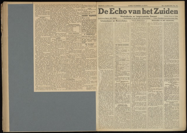 Echo van het Zuiden 1946-07-05