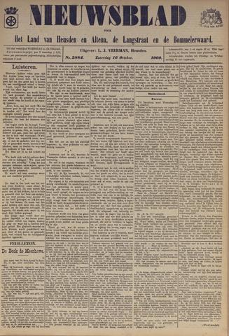 Nieuwsblad het land van Heusden en Altena de Langstraat en de Bommelerwaard 1909-10-16