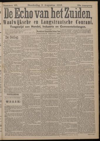 Echo van het Zuiden 1915-08-05