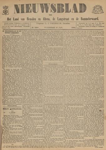 Nieuwsblad het land van Heusden en Altena de Langstraat en de Bommelerwaard 1904-01-27