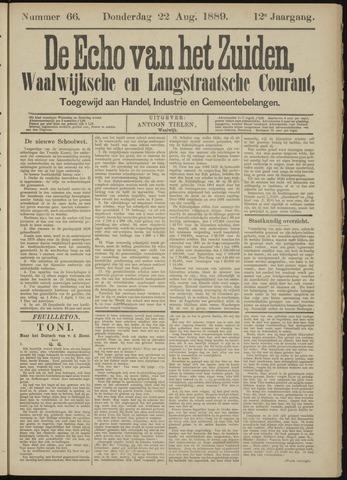 Echo van het Zuiden 1889-08-22