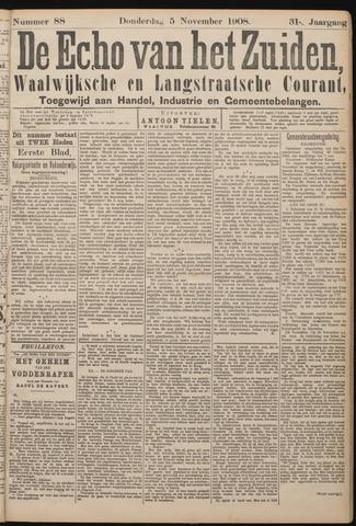 Echo van het Zuiden 1908-11-05