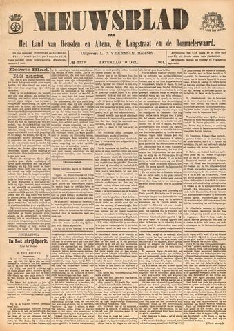 Nieuwsblad het land van Heusden en Altena de Langstraat en de Bommelerwaard 1904-12-10